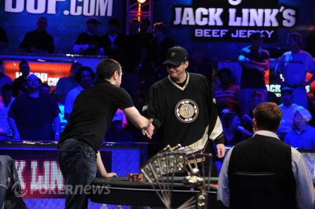 WSOP Poker Player's Championship - Phil Hellmuth tapte heads-up
