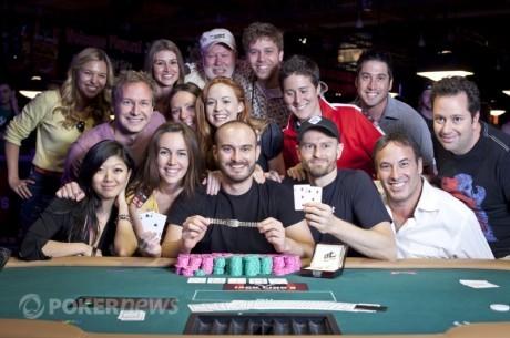 WSOP apžvalga: savaitgalio čempionai ir Pagrindinė kova