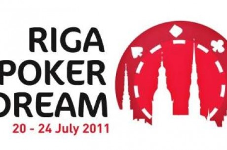 Riga Poker Dream: 20 – 24 июля