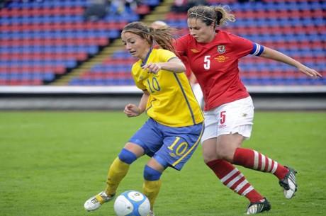 Svensk förlust mot Japan i semifinal i Fotbolls-VM 2011 för damer