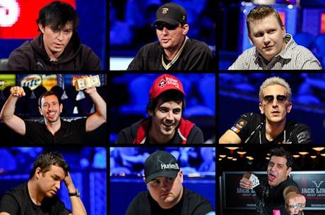 2011 WSOP: parima võimaliku November Nine'i koosseis