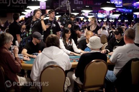 WSOP apžvalga: $10,000 beribio Holdem Čempionatas 3 diena
