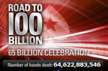 PokerStars、Road to 100 Billion、650億番目ハンドプロモーション