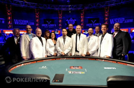 WSOP Main Event: Seatings For Dag 6