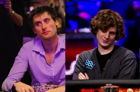 Eoghan O'Dea & Samuel Holden Nearing WSOP Main Event Final