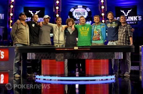 WSOP 2011:Определились участники Ноябрьской Девятки.