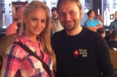 Daniel Negreanuval barátkozott Las Vegasban Polgár Kriszta