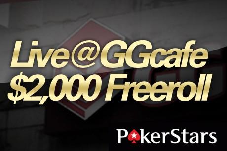 GGcafe $2,000 PokerStars 라이브 프리롤 시작!