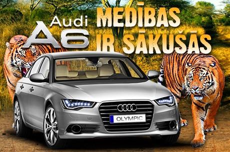 Vēlies jaunu Audi A6 vien par 650 FPP punktiem?
