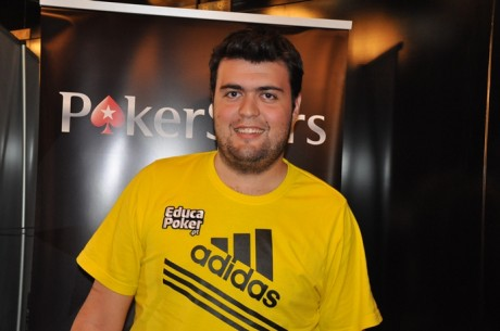 Rafael Martins é o chipleader do Dia 1 do PokerStars Solverde Poker Season