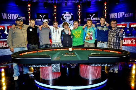 Segunda parte:os presentamos a los November Nine de las World Series of Poker 2011