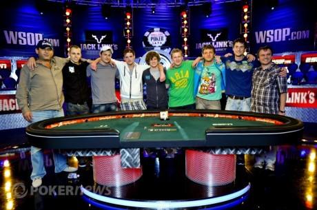 2011 WSOP põhiturniiri finaallaua tutvustus. Osa 2