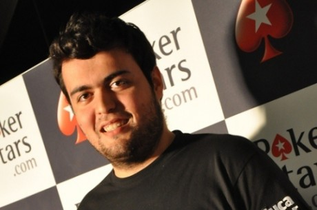 Rafael Martins é o vencedor da Etapa #7 do PokerStars Solverde Poker Season