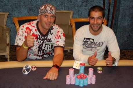 """Jānis """"Jaunais"""" Sīka sadala pirmās divas Riga Poker Dream Main Event vietas!"""
