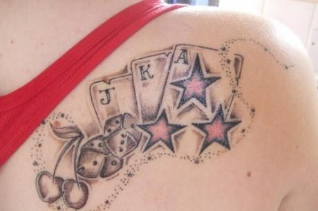Poker niezbyt serio: Tatuaże