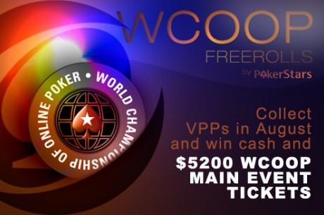 PokerStars와 PokerNews가 함께하는 WCOOP 프리롤!