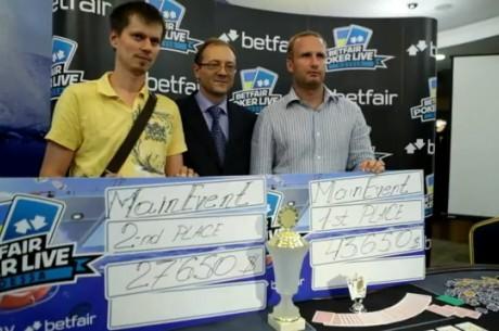Betfair Poker Live! Одесса, ME: Сергей Топчій – переможець...