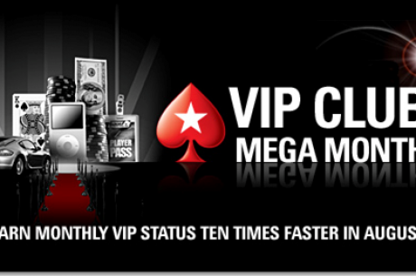 PokerStars VIP Club Mega Month 프로모션!