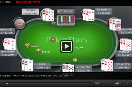 Záznam finálového stolu Sunday Millionu