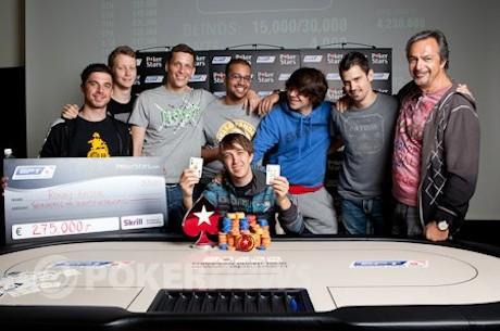 Ronny Kaiser odnosi pobedu na 2011 PokerStars.com EPT Tallinn