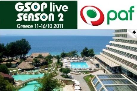 PAF-ga Kreeka GSOP Live-le!