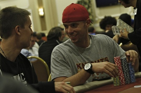 World Poker Tour Legends of Poker Day 1a: Matt Berkey Leads