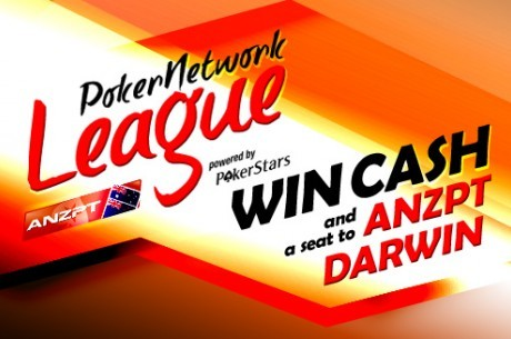 PokerNetwork ANZPT League Event #5 - Wild Card's Start This Week