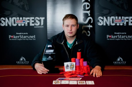 2011 PokerStars APPT Queestown의 우승자는 Marcel Schreiner!