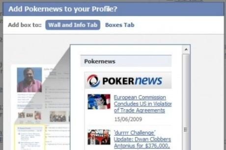 Habrá anuncios de poker online en Facebook