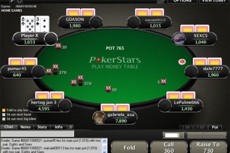 PokerNews Boulevard: PokerStars introduceert Easy Seat feature