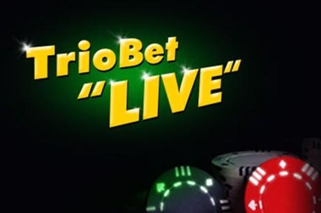 Triobet Live ülekanne 9. septembril + auhinnad vaatajatele!