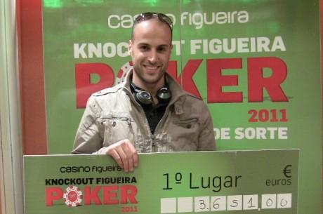 Marcos Ramos vence Knockout Figueira Poker Tour de Setembro