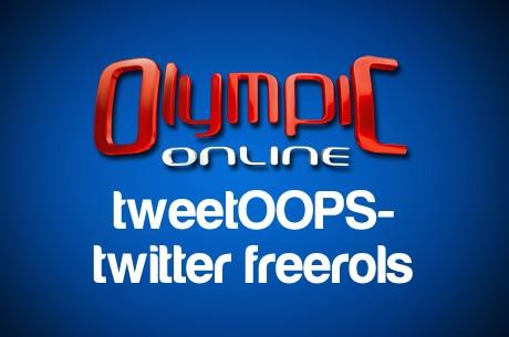 tweetOOPS - jau trešais twitter freerols!