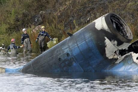 Utdömt flygplan blev Stefan Livs död i denna flygkrasch