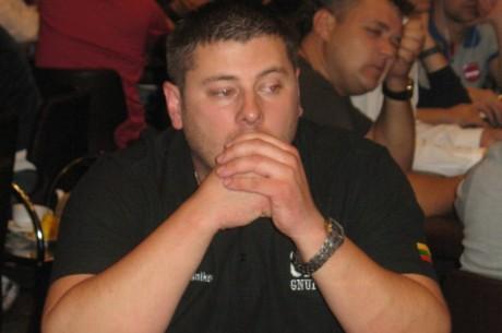 Rusijos Pokerio Serija Kijeve – Jurijus žengia į 3 dieną (Atnaujinta 01:52)