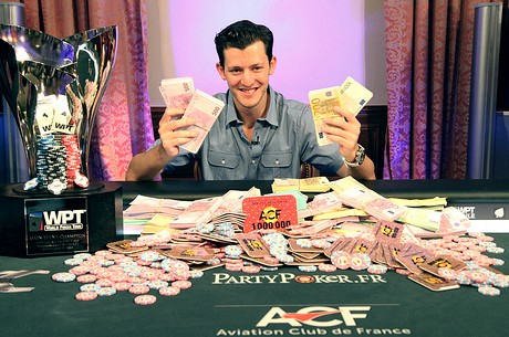 Matt Waxman Osvaja 2011 World Poker Tour Grand Prix de Paris