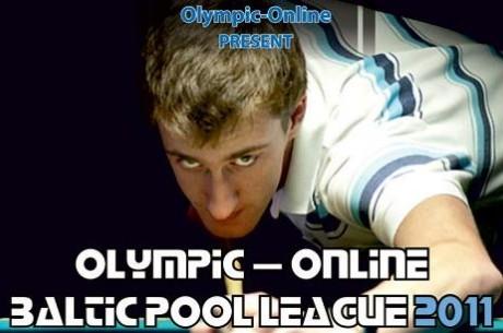 Olympic-Online Baltijos pulo lygoje pergalės atiteko kaimynams, bet reitinge pirmauja lietuviai