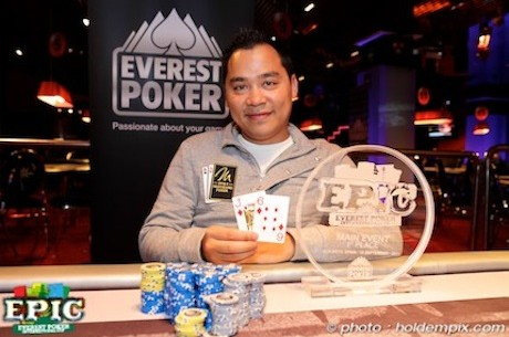 Ο Hanh Tran κερδίζει το 2011 Everest Poker International Cup