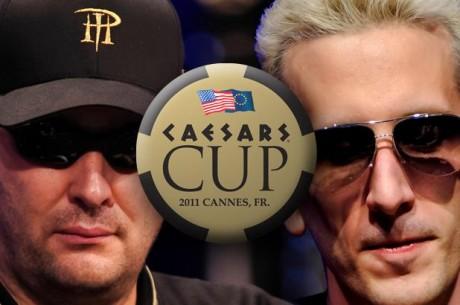 Grospellier & Hellmuth lagkaptener i Caesars Cup 2011