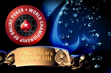 WCOOP 2011 Den 9: velká porce turnajů a náramků