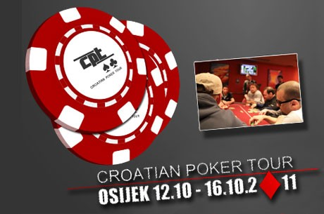 Sutra počinje Croatian Poker Tour u Osijeku - 12.10. do 16.10.
