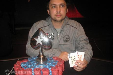 PokerStars.net Russian Poker Series Kiev- Oleg Prokhorov odnosi pobedu
