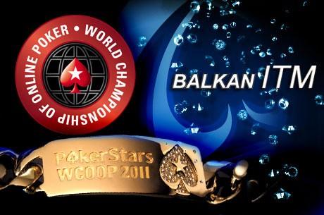 Igrači Balkana In The Money na WCOOP 2011