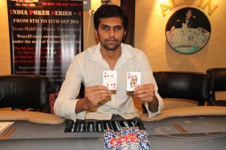 Ashutosh Naik reigns supreme at IPS 8