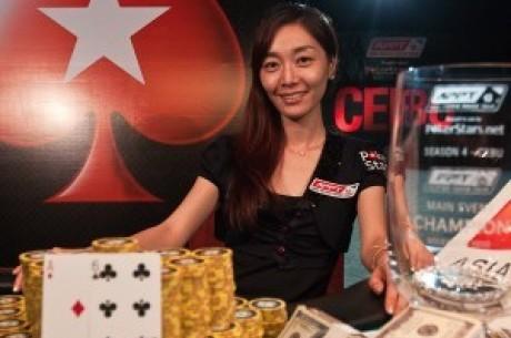 迎面而来的扑克之星职业团队成员Vivian Im