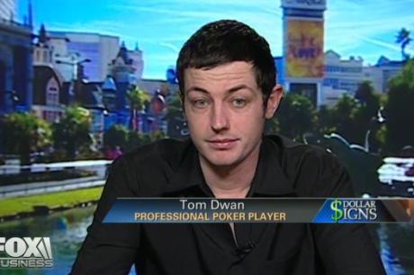 Покер играчите из ТВ новините: Tom Dwan говори пред FOX...