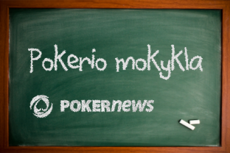 Pokerio mokykla: Gyva Begalybės SnG sesija (V dalis)