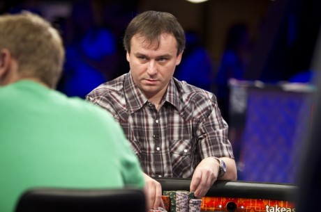 Aquecimento para as  World Series Of Poker November Nine 2011: Martin Staszko