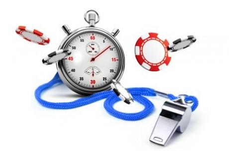 Покер турнирен часовник