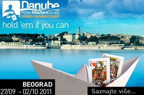 Jovan Jojić čip lider finalnog stola Danube Poker Masters Main Event-a